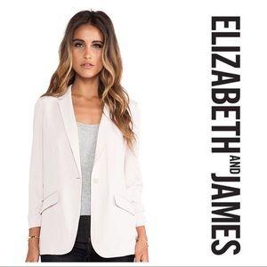 [Elizabeth and James] Gray/Purple Blazer
